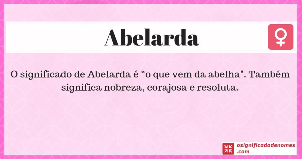 Abelarda