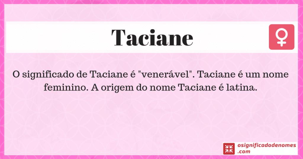 Taciane