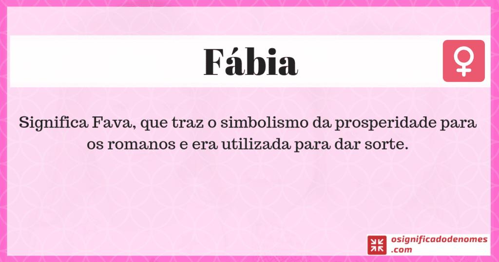Fábia