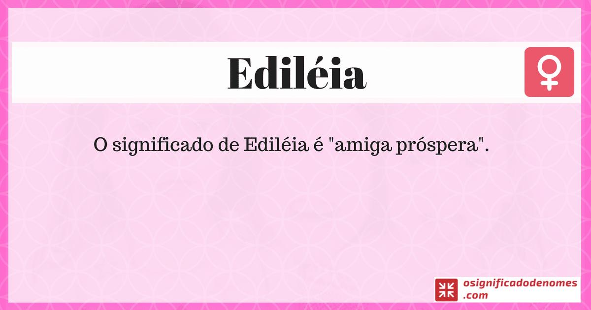 Edileia