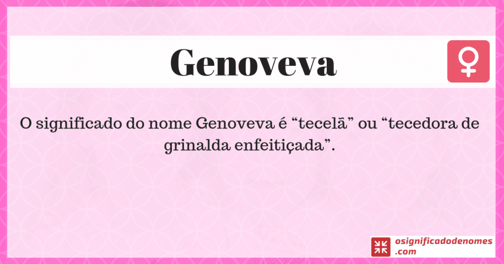 Significado de Genoveva