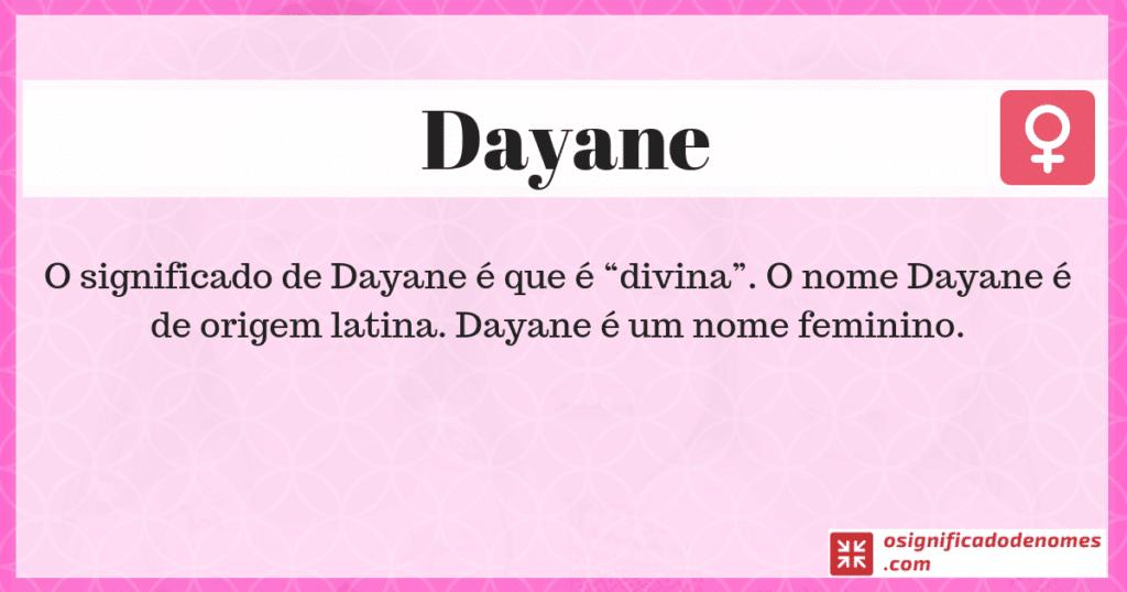 Dayane
